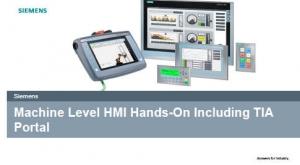 Machine Level HMI Hands-On Including TIA Portal
