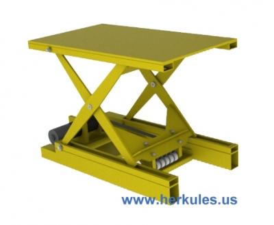 Herkules Equipment Corporation Belt Drive Scissor Lift