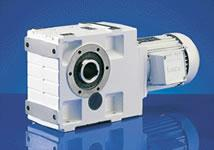 Lenze GKS Helical Bevel Gearmotors - GKS Helical Bevel Gearmotors by Lenze