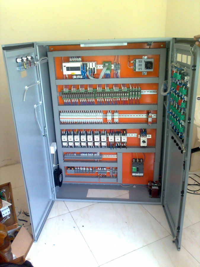 Harsh Automation And Controls RMC Plant PLC Panel With SCADA Programming - RMC Plant PLC Panel With SCADA Programming by Harsh Automation And Controls