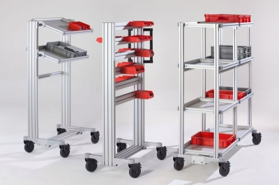 Item Industrietechnik GmbH SystemMobiles - The Ergonomic Work Bench System - SystemMobiles - The Ergonomic Work Bench System by Item Industrietechnik GmbH