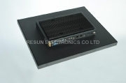 All Color Touch Screens - 17 Inch IP65 Front Panel Atom N2600 Fanless Touch Panel PC by Resun Electronics Co Ltd