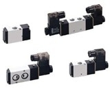 Pneumatic Valve Pneumatic Products - 4V100 Series Solenoid Valves by Iwa Industrial Co.,ltd