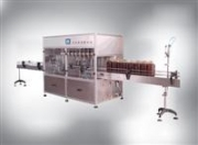 All Machine Vision - Automatic Cooking Oil Filling Line by Jinan Xunjie Packing Machinery Co., Ltd.