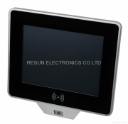 All Color Touch Screens - Fanless Panel PC Built-in Barcode Scanner And RFID Reader by Resun Electronics Co Ltd