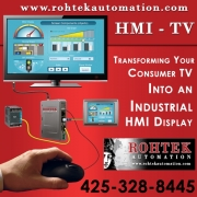 Human Machine Interface Industrial Software - Hmi - Tv by Rohtek Automation