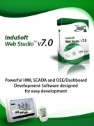 Plc Scada Industrial Software - InduSoft Web Studio by InduSoft, Inc.