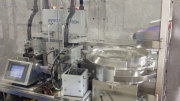 Liquid Filling Machine All - IntelliFILLER Robotic Liquid Fill And Cap by Intellitech, Inc.