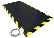 Power Unit Enclosures Safety - Pressure Sensitive Safety Mats by Faztek, LLC