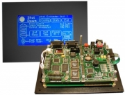 Single Board Computer Enclosures - QScreen Controller by Mosaic Industries Inc