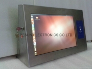 Industrial Touch Screen Panel Pc Hmis Operator Interfaces - Stainless Steel Industrial Touch Panel PC With RFID Reader by Resun Electronics Co Ltd