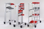 Ergonomic Work Bench System Framing And Guarding - SystemMobiles - The Ergonomic Work Bench System by Item Industrietechnik GmbH