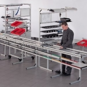 All Framing And Guarding - Work Bench Interlinking  by Item Industrietechnik GmbH