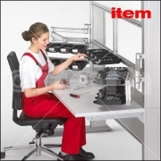 Workstations Framing And Guarding - Work Bench System by Item Industrietechnik GmbH