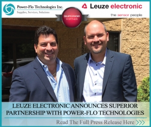 Leuze Electronic Announces Superior Partnership With Power-flo Technologies