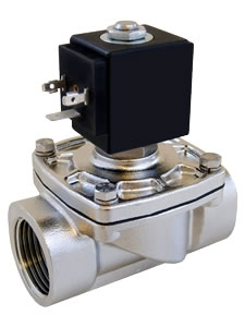 Direct Lift 316 Stainless Steel Solenoid Valves