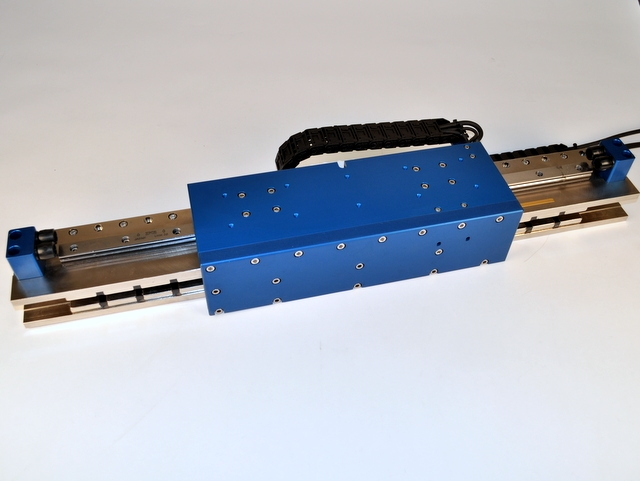 High Force Brushless Linear Motor Positioning Stage
