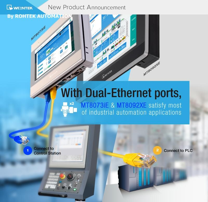 Hmi With Dual-ethernet Ports