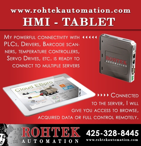 Hmi-tablet For Ipad By Rohtek Automation