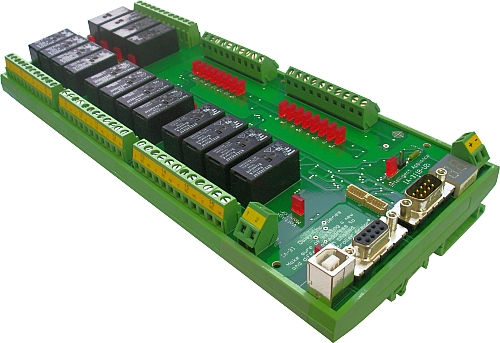 Industrial Isolated Usb Or Rs-232 Relay Controller