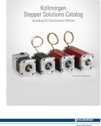 Kollmorgen Publishes Stepper Solutions Catalog