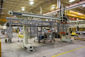 Modern Plc Based Gantry With Siemens Technology