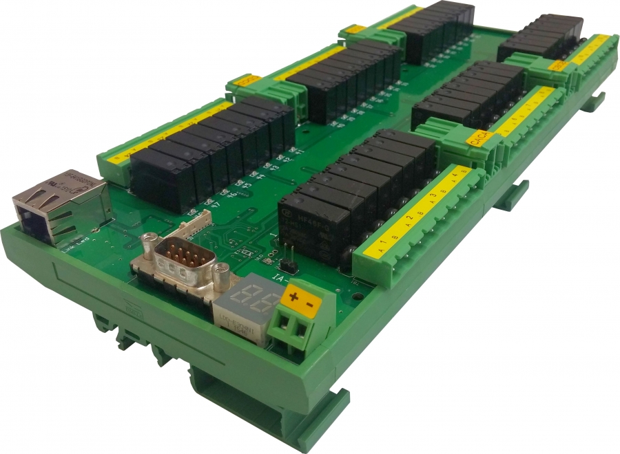 New Ethernet Relay Board Includes 48 Power Relays And Local Expansion Capability