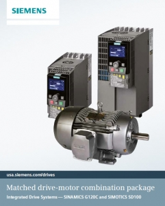 Siemens Matched G120 C Drive And Sd 100 Motor