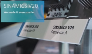 Sinamics V20 Is Even Smaller