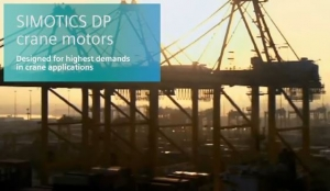 The New Simotics Crane Motors From Siemens