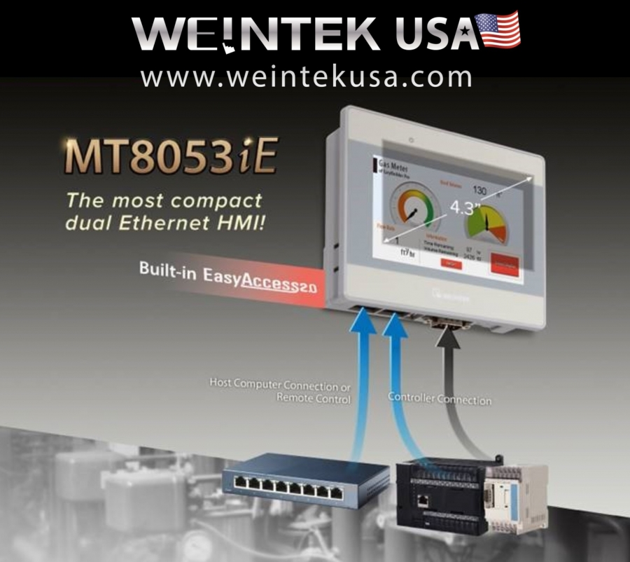 The Newest Hmi In Weinteks Dual Ethernet Family