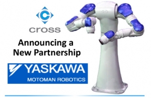 Yaskawa Motoman Partners With Cross